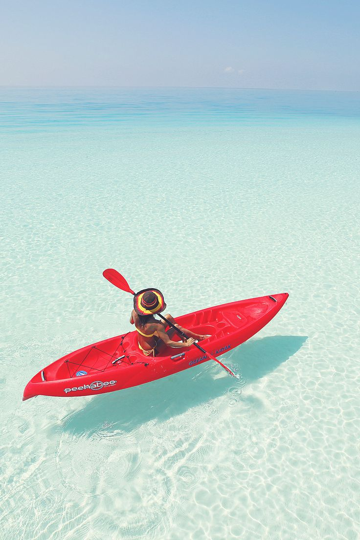 Endless summer - recreational kayaking in the ocean is a great workout and super fun! www.thekayakacademy.co.za