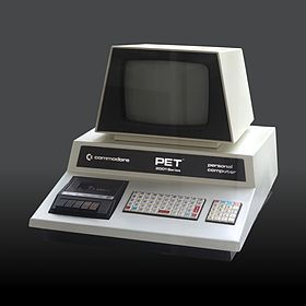 The Commodore Pet was the first of a couple of personal computers that was created. The machine was released in 1977. This computer had 4 or 8 kilobytes of memory. In addition, it had 2 built-in cassette drives, and a keyboard in it.
