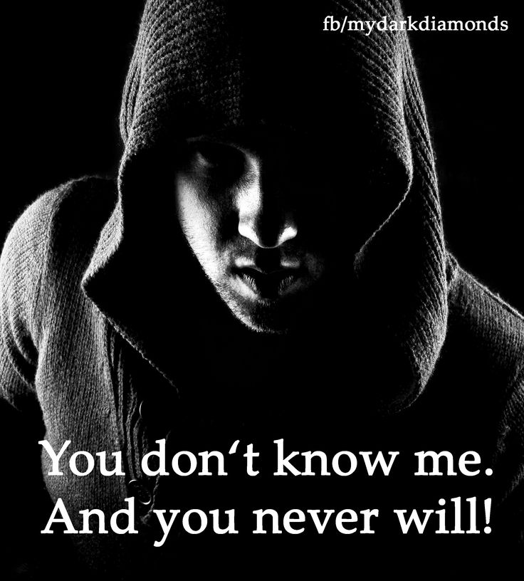 You don't know me. And you never will! - Mehr auf www.bittersweet.de #fantasy #romance #mydarkdiamonds