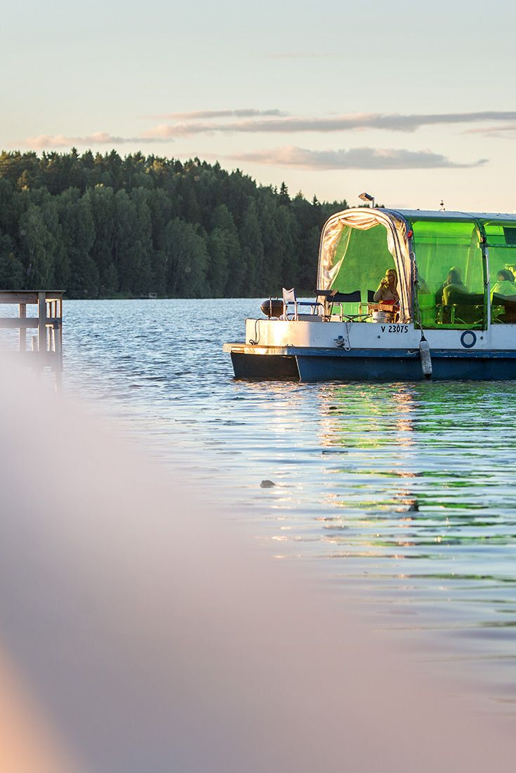 The historical surroundings and a peaceful M/S Venny cruise on Lake Tuusula will unwind you. #Tuusula #Travel