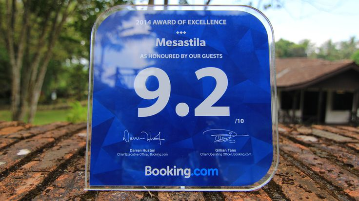 MesaStila is honoured to achieve Booking.com award of execellent 2014. Thank you to our guest great support.