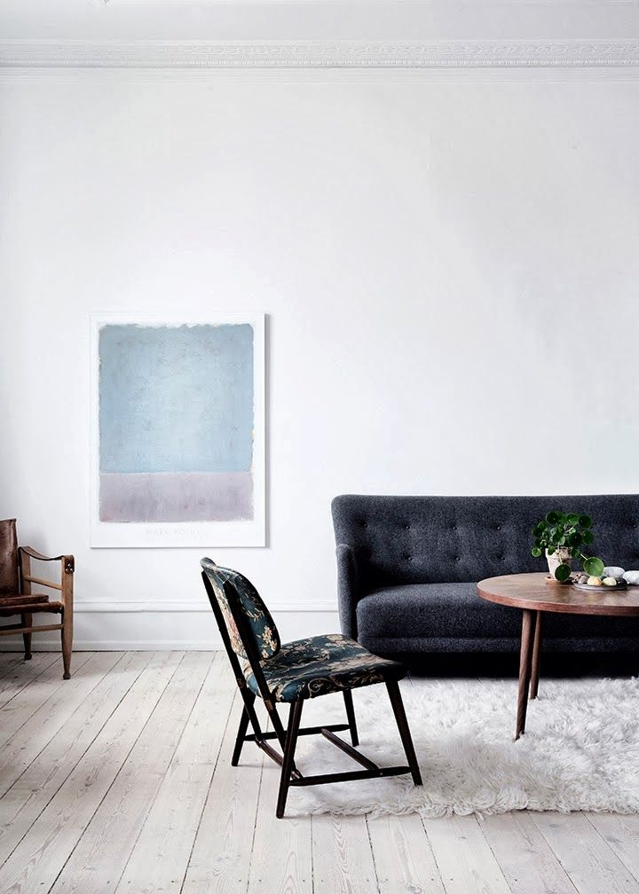 The stunning home of stylist Nathalie Schwer + give-away winner announcement - my scandinavian home