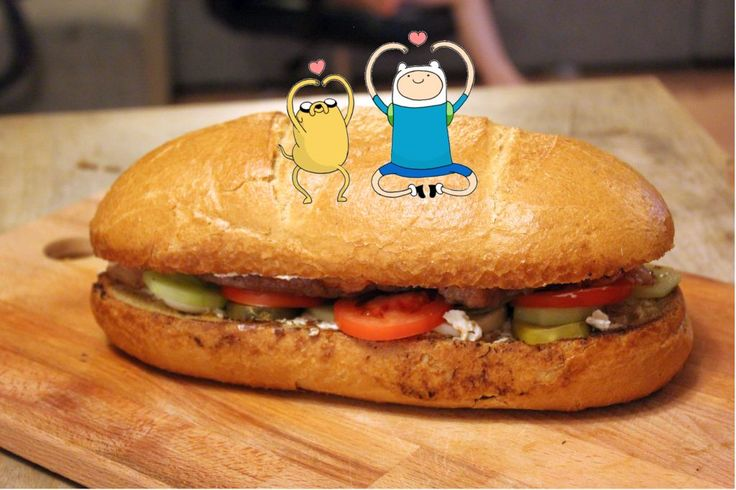 jakes sandwich frommadventure time