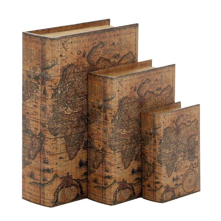 3-Piece Atlas Book Box Set