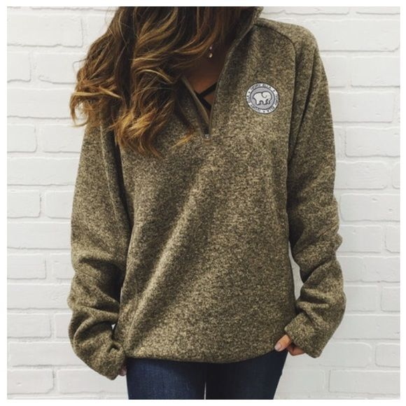 ISO Ivory Ella Heathered Quarter Zip I'm not selling! I'm looking for a size S or XS let me know if you or someone else has for sale Ivory Ella Tops Sweatshirts & Hoodies