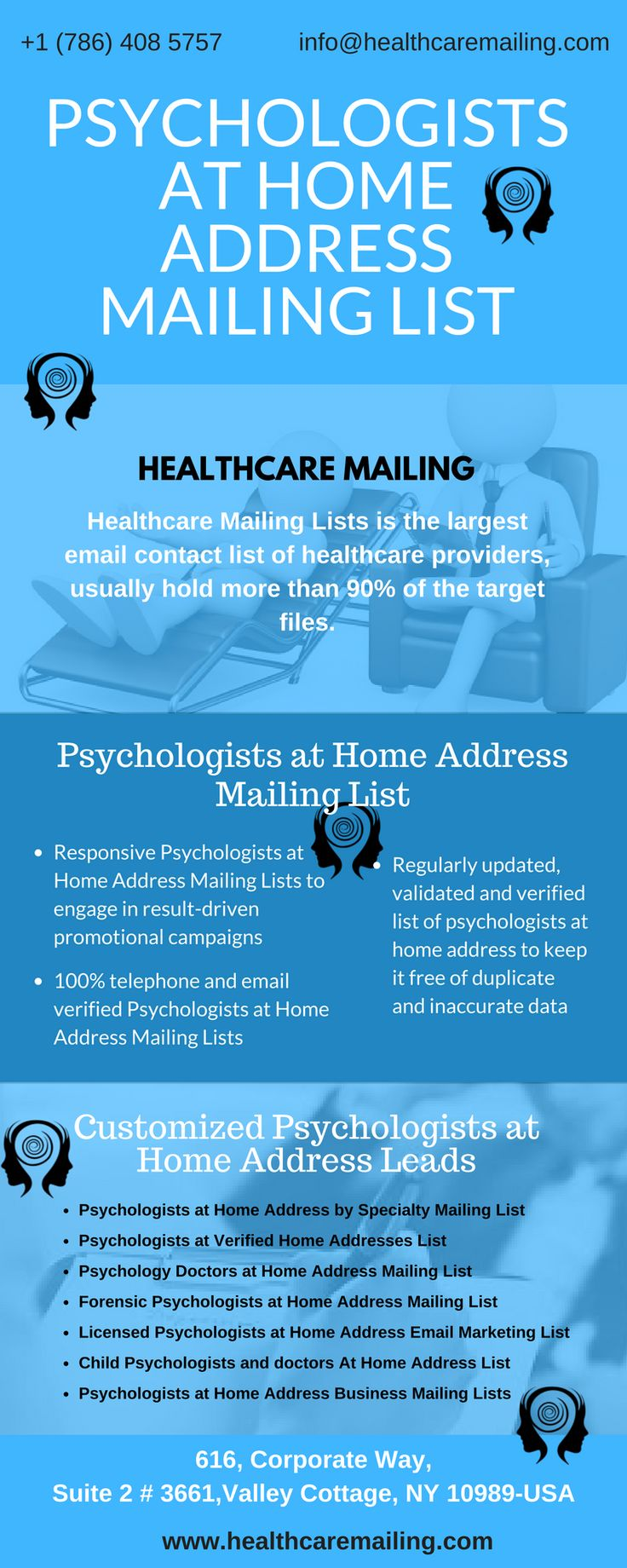 Best Healthcare Mailing Infographics Images On   Info