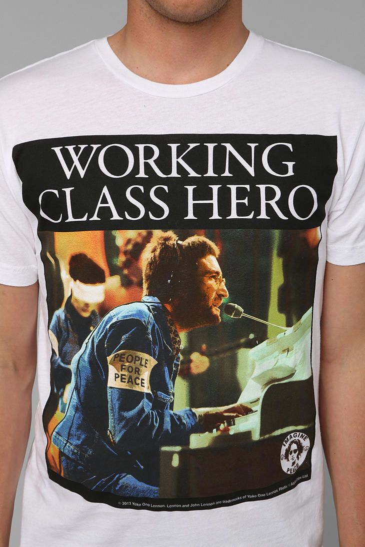 Lennon Working Class Hero Tee #urbanoutfitters