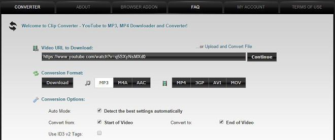 baixar mp3 youtube web