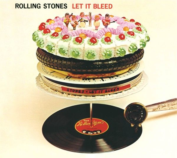 LET IT BLEED. RELEASED NOVEMBER 1969 UK NO.1 (1 WEEK) CHARTED 29 WEEKS US NO.3. CHARTED 44 WEEKS. The first studio album to be released following Brian Jones departure from the band and subsequent death, it includes his replacement, 20 year old guitarist Mick Taylor.
