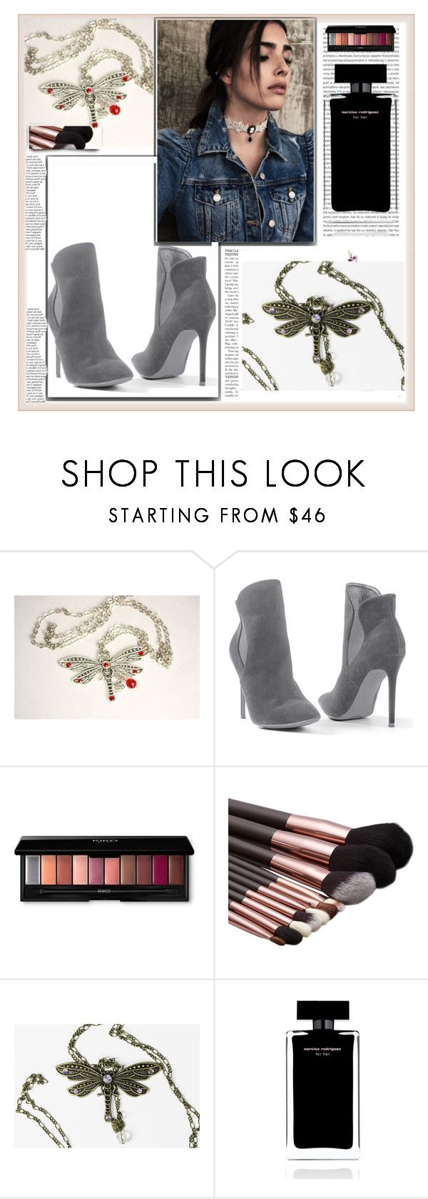 """https://www.etsy.com/il-en/shop/MadameNadine VI"" by nura-akane ❤ liked on Polyvore featuring Venus, Narciso Rodriguez and Oris"