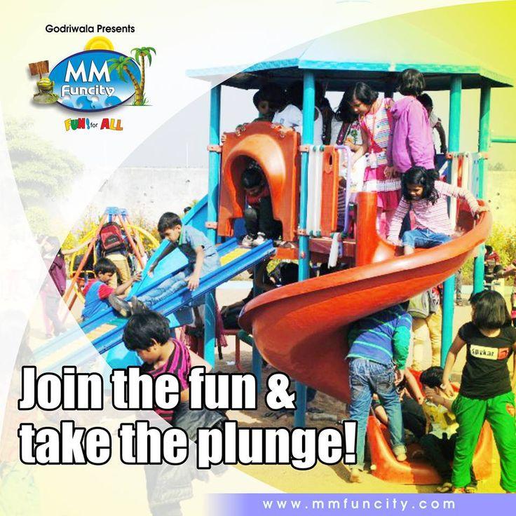 Join the fun and take the plunge!    #Fun #Plunge #MMFuncity