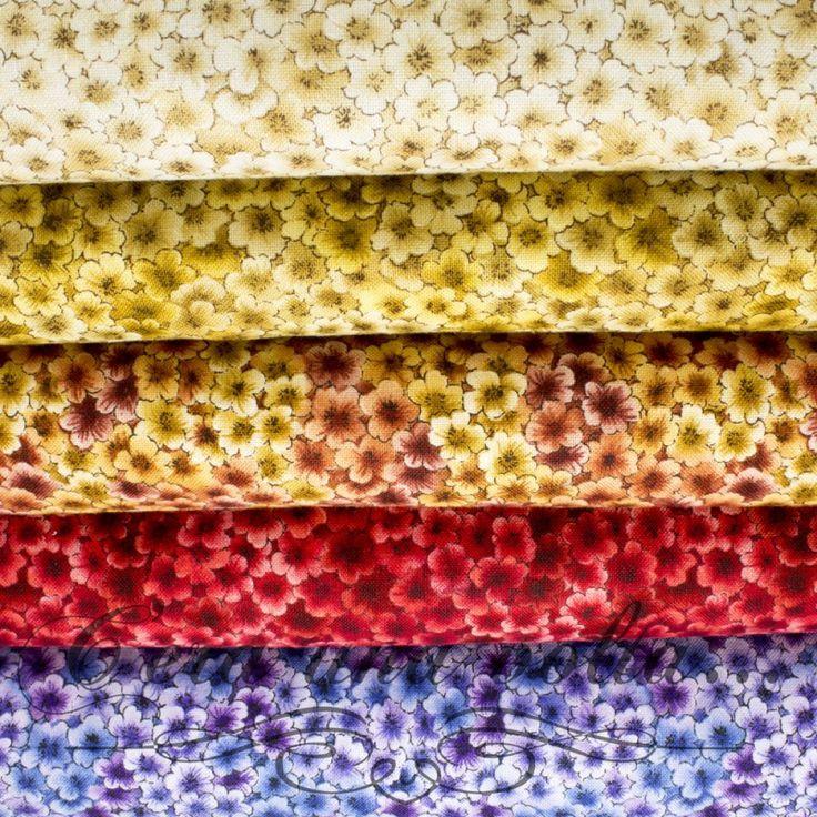 Merceriaceraunavolta.it | Tessuto patchwork a fiori