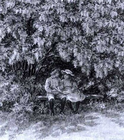 Under the Labernum by Caroline Paterson Sharpe