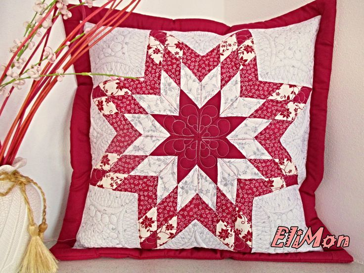 pillow Lone star, quilt,