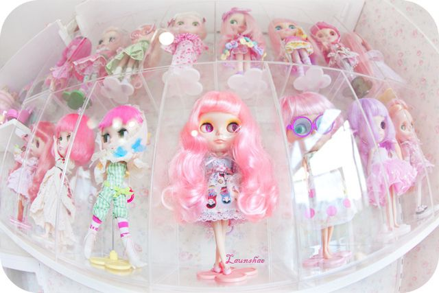 fishing with the eye by dot: Dolls Dolls Dolls, Pink Dolls, Dolls Blythe, Blythe Nubecitas, Blythe Dolls, Blythe Addict, Beautiful Blythe, Photo, Eye
