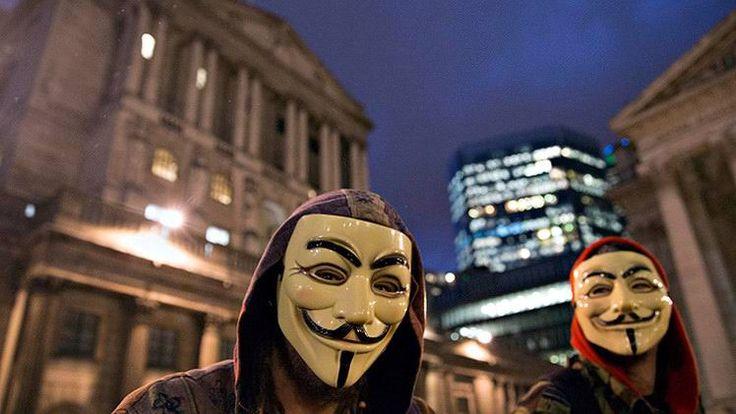 Anonymous llama a levantarse contra la