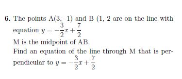 Gradients of straight lines worksheet (with solutions):  A worksheet on finding gradients of straight lines, perpendicular lines and parallel lines, finding the midpoint of a line segment and determining the equation of a straight line given one point and its gradient or two points. Detailed solutions are provided. Good fro GCSE/ IGCSE students .