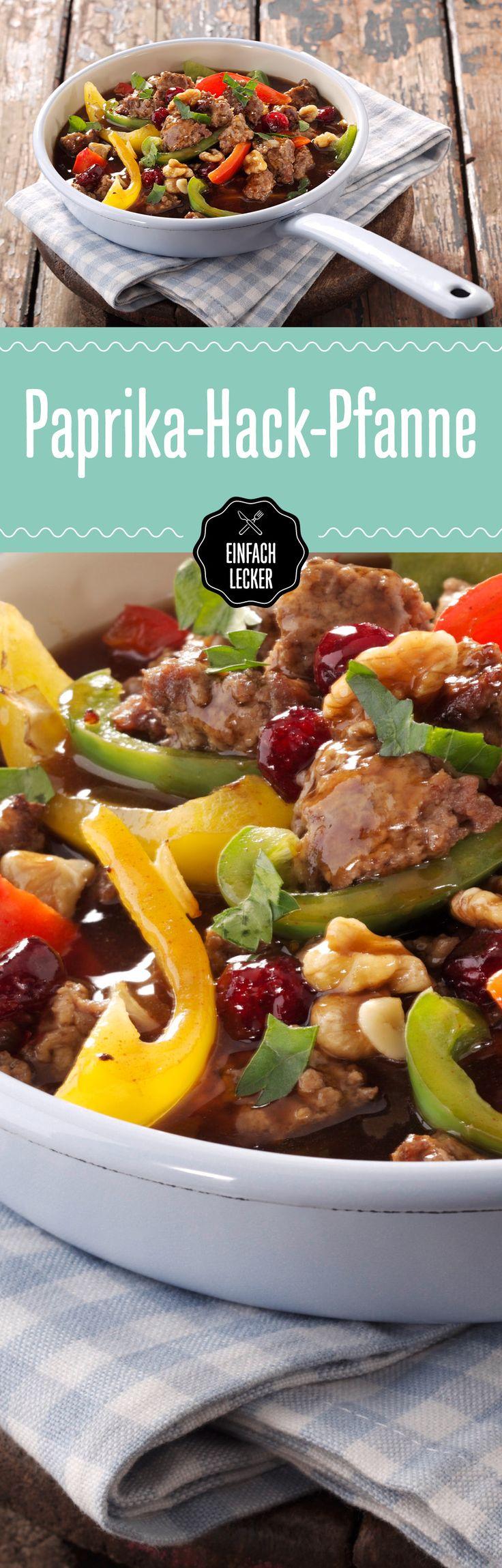 What the Hack! Wenn dieses Gericht mit Paprika, Cranberries und Walnüssen auf den Tisch kommt, rasten alle aus …