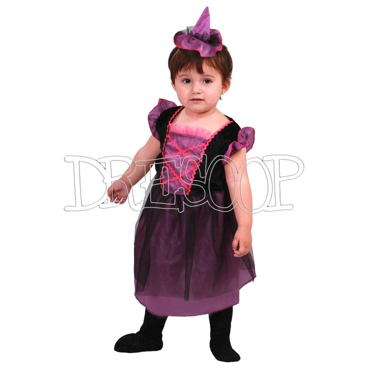 Disfraz Brujita Baby para bebé - Dresoop.es