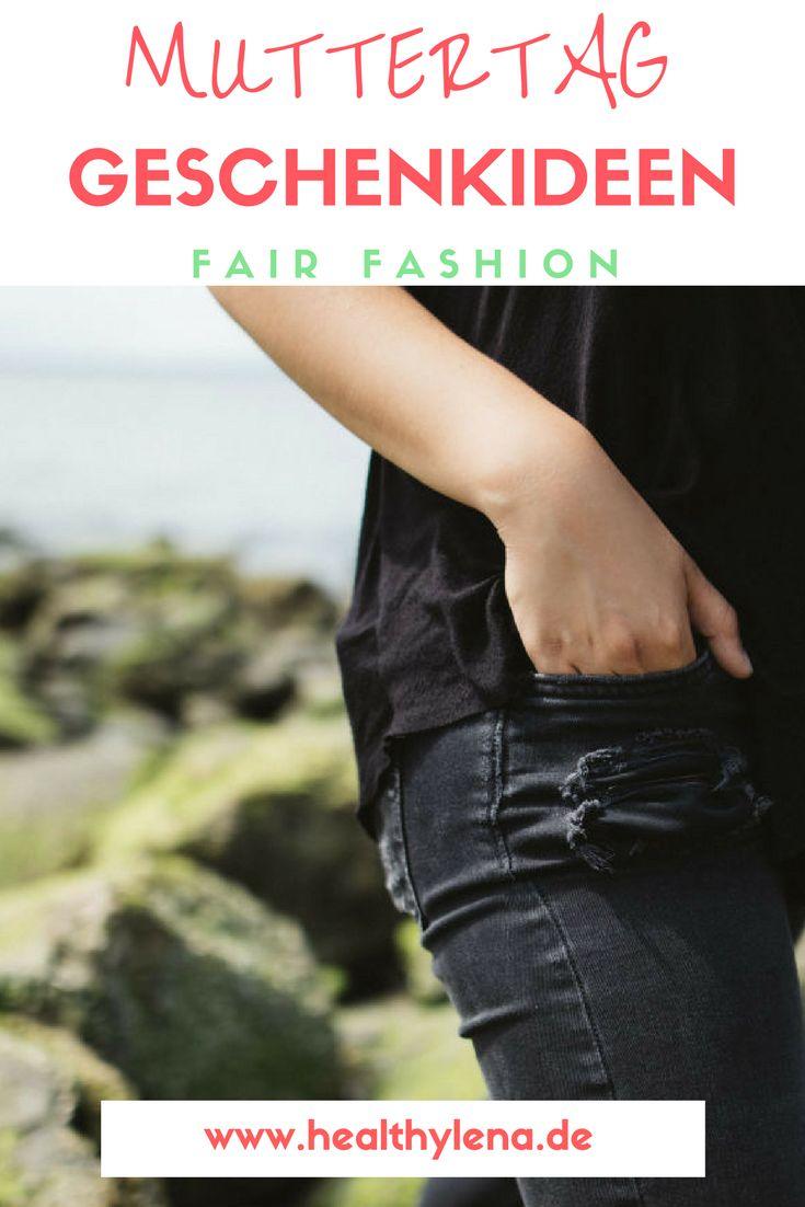 Mit diesen tollen Geschenkideen aus dem Bereich Fair Fashion machst du deiner Mama zum Muttertag auf jeden Fall eine Freude. Faire Mode zum Verschenken!