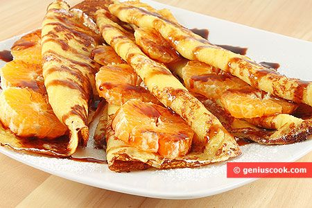 French Pancakes (Crêpes) | Baked Goods | Genius cook - Healthy Nutrition, Tasty Food, Simple Recipes