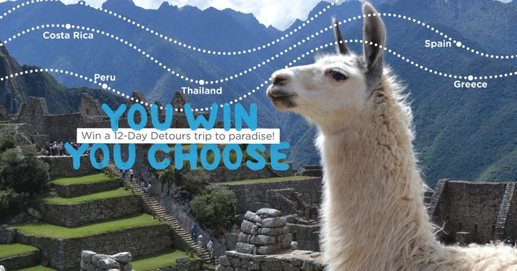 Help me win this awesome 12-day vacation with @DetoursTravel!  Details are at www.detourstravel.com/win