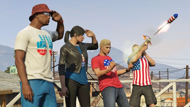 GTA 5 Independence Day Celebrations Offering Double RP and GTA$ in GTA Online Events
