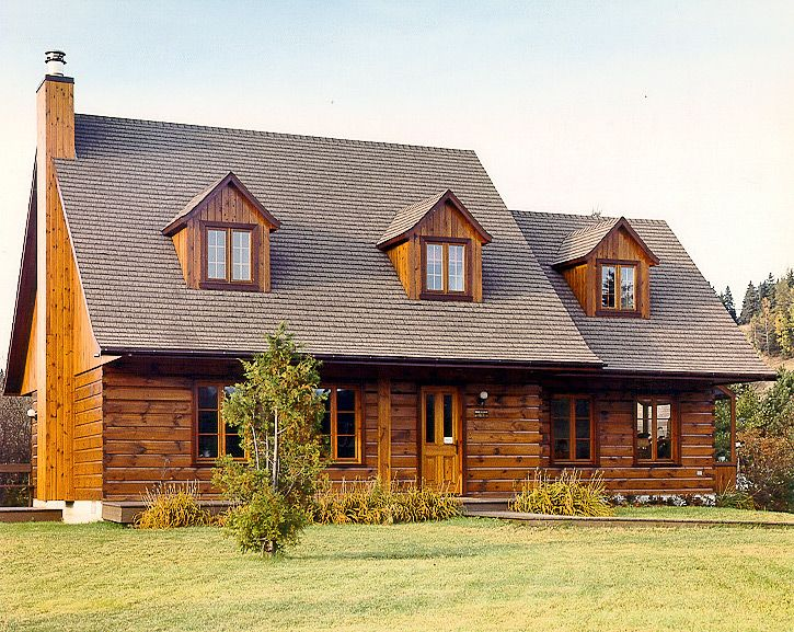 Best 25 small log homes ideas on pinterest small log for Log home designs ontario