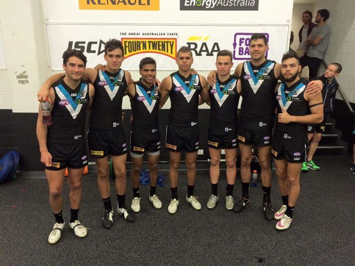 All Of The 7 Aboriginal Super Stars Of The Port Adelaide Power Football Club