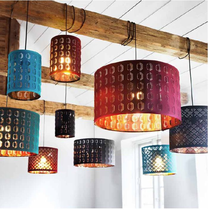 I did not realize how much I needed these lights in my life until I saw them. (NYMÖ pendant lamp shades, Ikea, $10-$50)