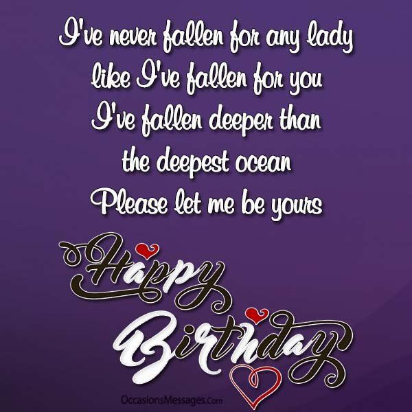 Happy Birthday Wishes For Crush Special Happy Birthday Wishes Best Birthday Wishes Birthday Wishes For Myself