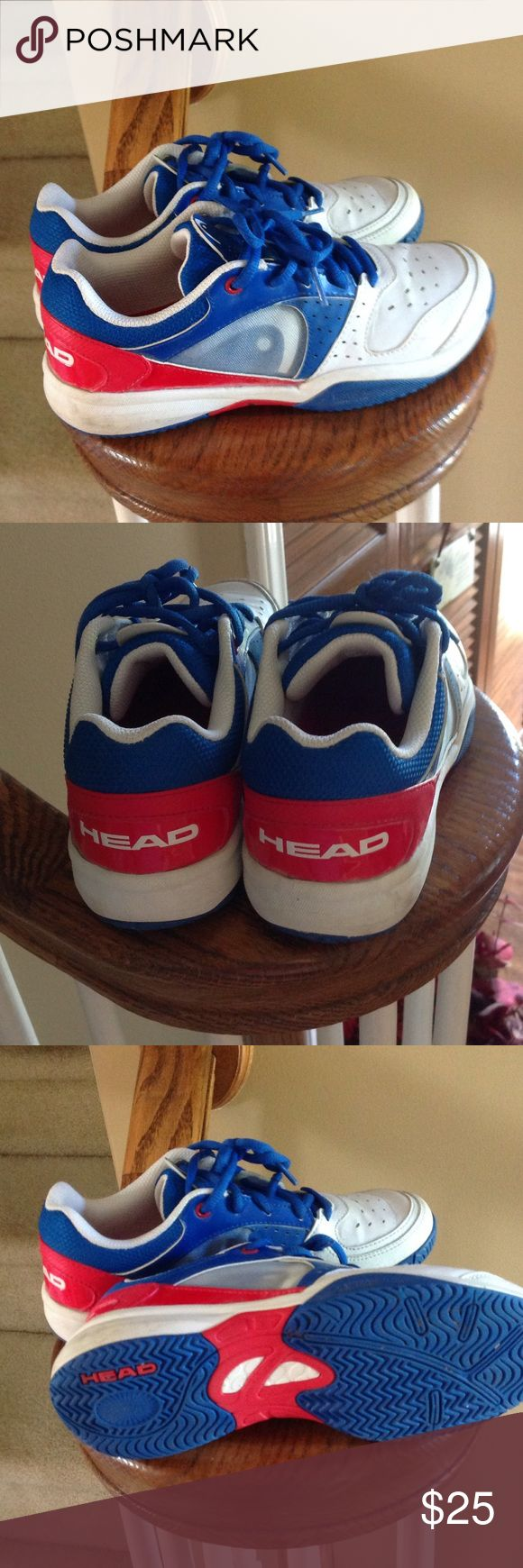 Head Tennis Shoes......for tennis 4.5 Head Tennis shoes......only worn a couple times......great condition! Head Shoes Sneakers