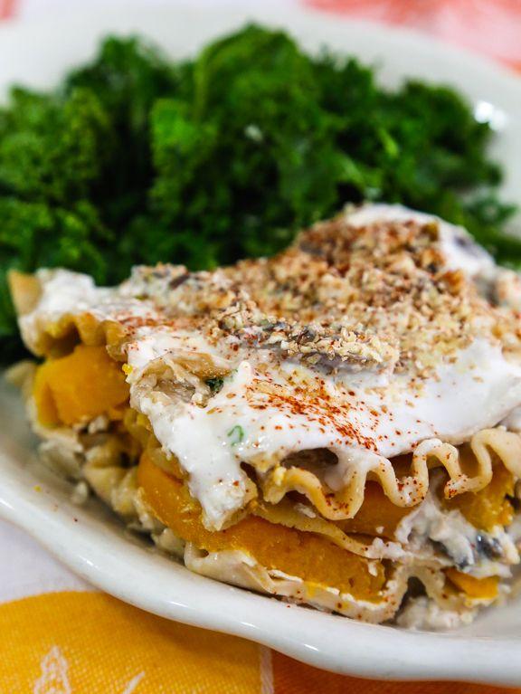 Roasted Sweet Potato Lasagna recipe