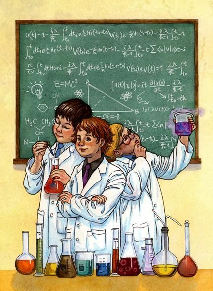 The Scientific Method by Isabella Kung. #laboratori #pissarra