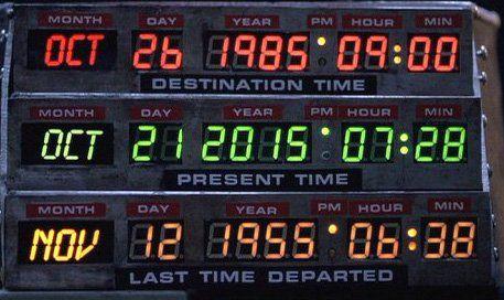 """#Sciences """"Retour vers le Futur"""" 1985 de Robert Zemeckis avec Michael J. Fox, Christopher Lloyd sur @TMClachaine"""