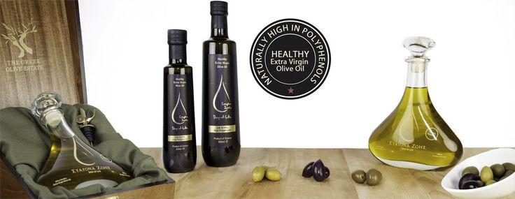 The Greek Olive Estate - Healthy olive oil