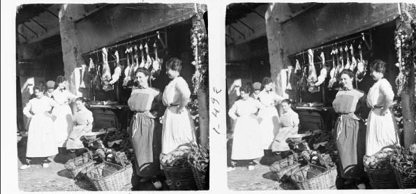 """""""Benedicció dels palmons"""" by Josep Salvany i Blanch, 1919. Courtesy of the Biblioteca de Catalunya (www.bnc.cat). (Public Domain) http://www.europeana.eu/portal/record/91907/C5A293FDE87DABCA34A610F9B4358FC66DA99E58.html"""