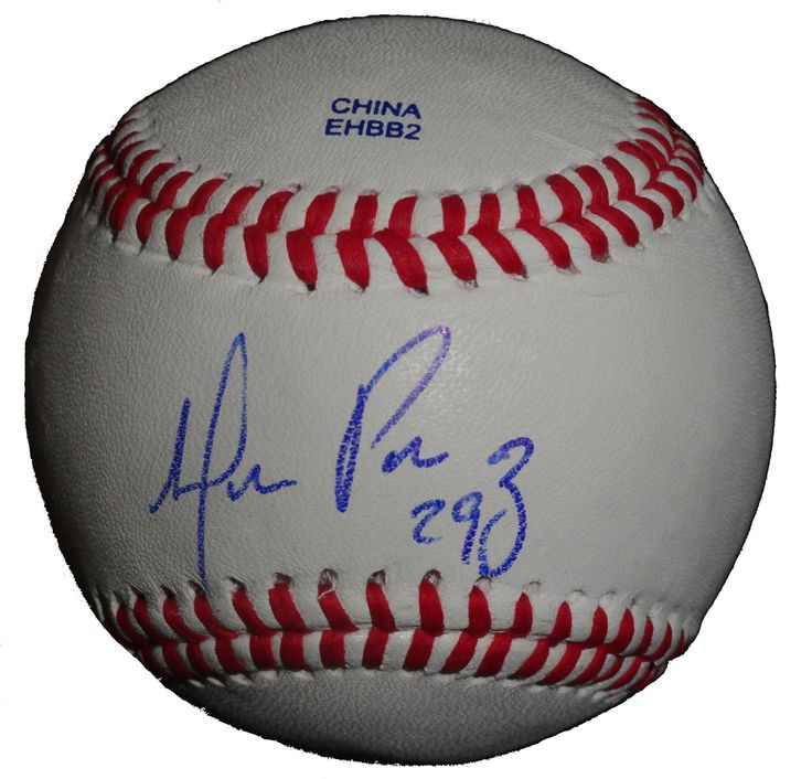 Detroit Tigers Hernan Perez signed Rawlings ROLB leather baseball w/ proof photo. Proof photo of Hernan signing will be included with your purchase along with a COA issued from Southwestconnection-Memorabilia, guaranteeing the item to pass authentication services from PSA/DNA or JSA. Free USPS shipping. www.AutographedwithProof.com is your one stop for autographed collectibles from Detroit sports teams. Check back with us often, as we are always obtaining new items.