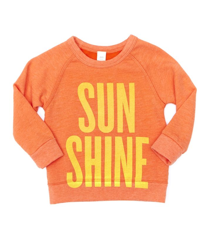 Baby Sunshine Crew - Baby Girls - Shop - sale | Peek Kids Clothing