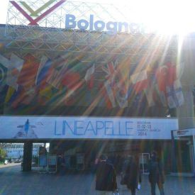 L'ingresso di Lineapelle 11 -12 - 13 Marzo 2014 a Bologna