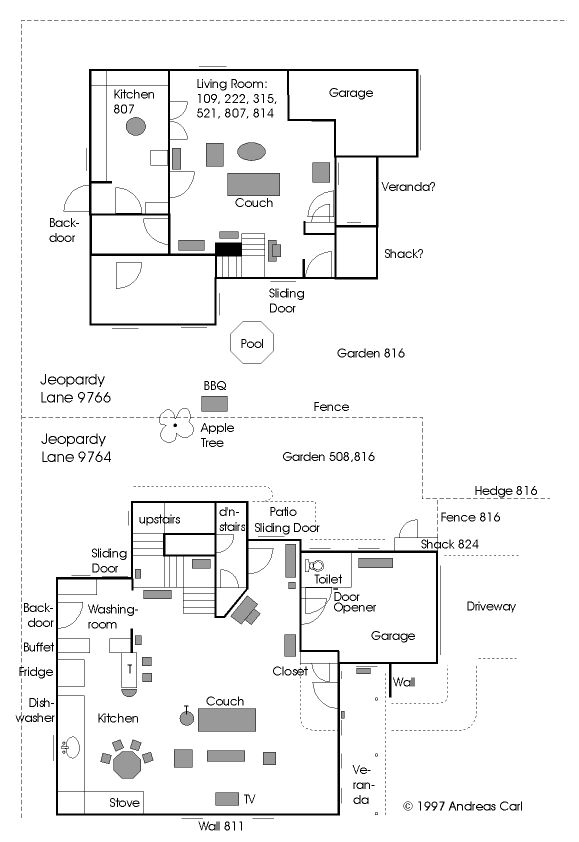 20 best MovieTV Floorplans images – Sitcom House Floor Plans