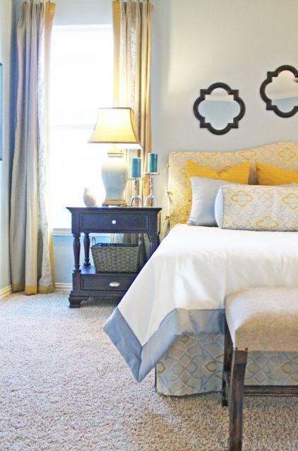 Best 25 Blue Yellow Bedrooms Ideas On Pinterest Blue