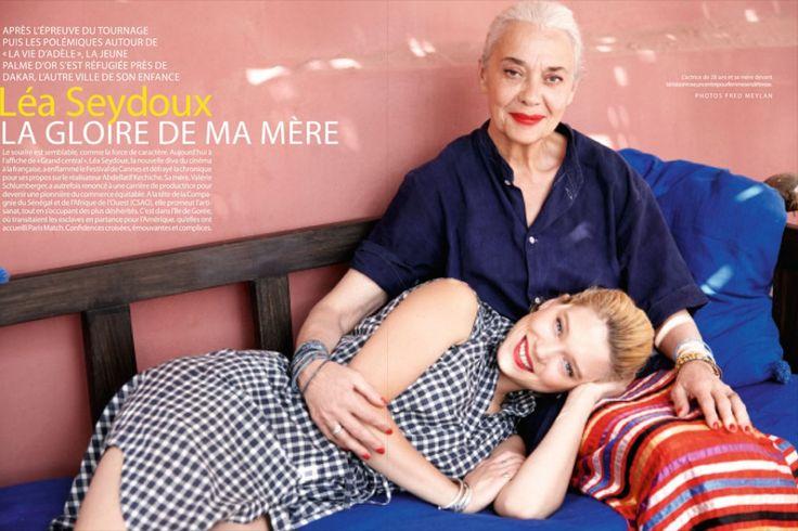 """Léa Seydoux: """"J'ai giflé Adèle comme une brute""""    http://www.parismatch.com/People/Cinema/Lea-Seydoux-j-ai-gifle-Adele-comme-une-brute-528432"""