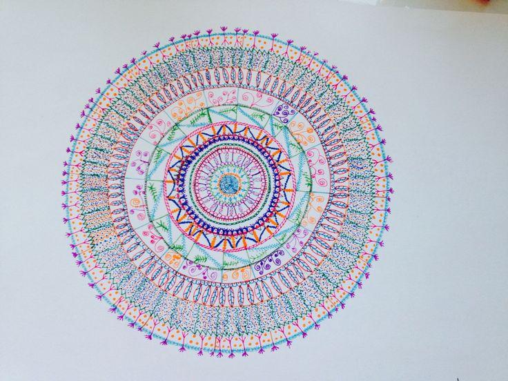 Sabrı öğreten mandala
