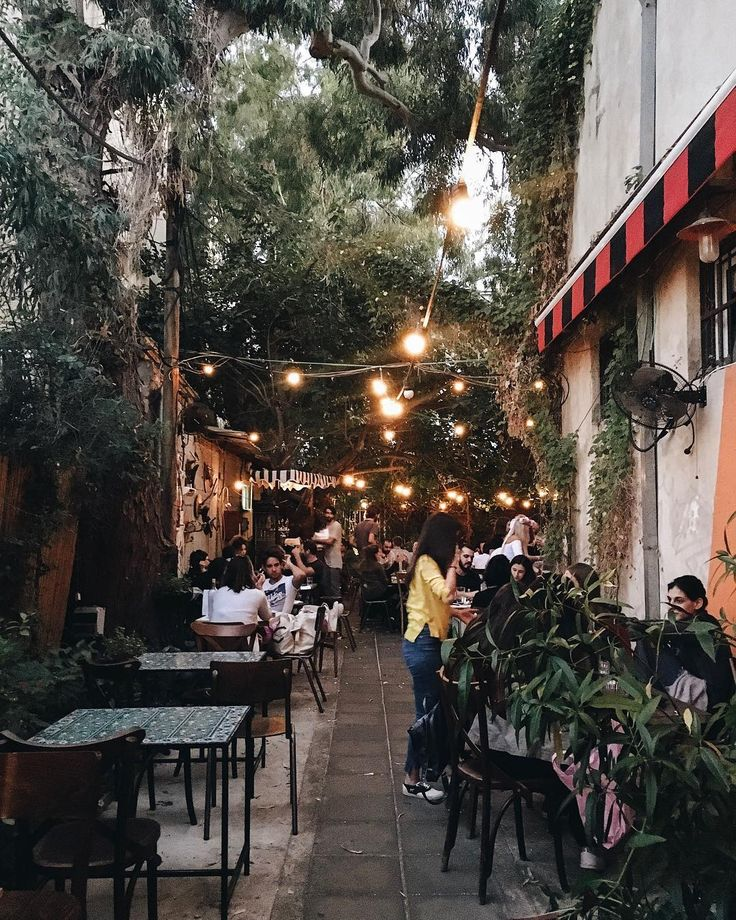 Turn the lights on and keep the drinks cold. Cheers, Tel Aviv! ✨  #telaviv #israel #tlv #bicicletta #backyard #garden #bar #citystroll #bigcitylife #eveninglights #ninosy #travel #hiddengem #cheers #holidays #cosy