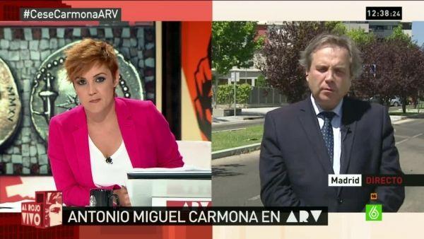 Al rojo vivo..Carmona...Segun Sanchez debe ser el proximo alcalde de Madrid