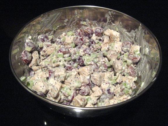 Sonoma Chicken Salad (Like at Costco) ----I hope they mean the chicken salad Costco USED to carry! I LOVED that stuff!