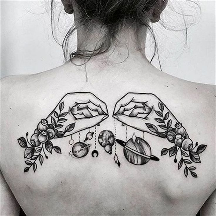 40 Cool And Amazing Back Tattoo Designs You Want To Show Off In Summer – Page 8 of 40   – Tattoo