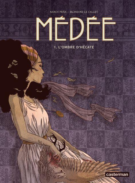 Médée, sorcière, magicienne et femme libre ? - http://www.ligneclaire.info/bd-medee-lombre-dhecate-casterman-10328.html