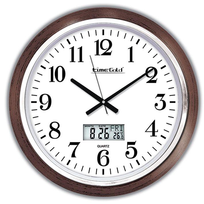 Dijital Dekoratif Duvar Saatleri Modeli  Ürün Bilgisi ;  Ürün maddesi : Plastik çerceve, Gerçek cam Ebat : 46 cm  Mekanizması (motoru) : Akar saniye, saat sessiz çalışır Saat motoru 5 yıl garantilidir Dijital Dekoratif Duvar Saatleri Modeli Yerli üretimdir Sağlam ve uzun ömürlü kullanabilirsiniz Kalem pil ile çalışmaktadır Gördüğünüz ürün orjinal paketinde gönderilmektedir. Sevdiklerinize hediye olarak gönderebilirsiniz